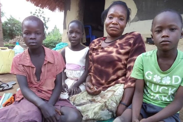 Man abandoned of 35-year-old disabled wife and his 4 children