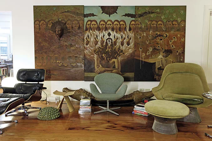 Kuya Kim Atienza's museum-inspired eclectic art style house is reminiscent of a New York loft