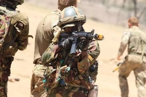 7 Unseen photos of dangerous British and KDF commandos training in Laikipia