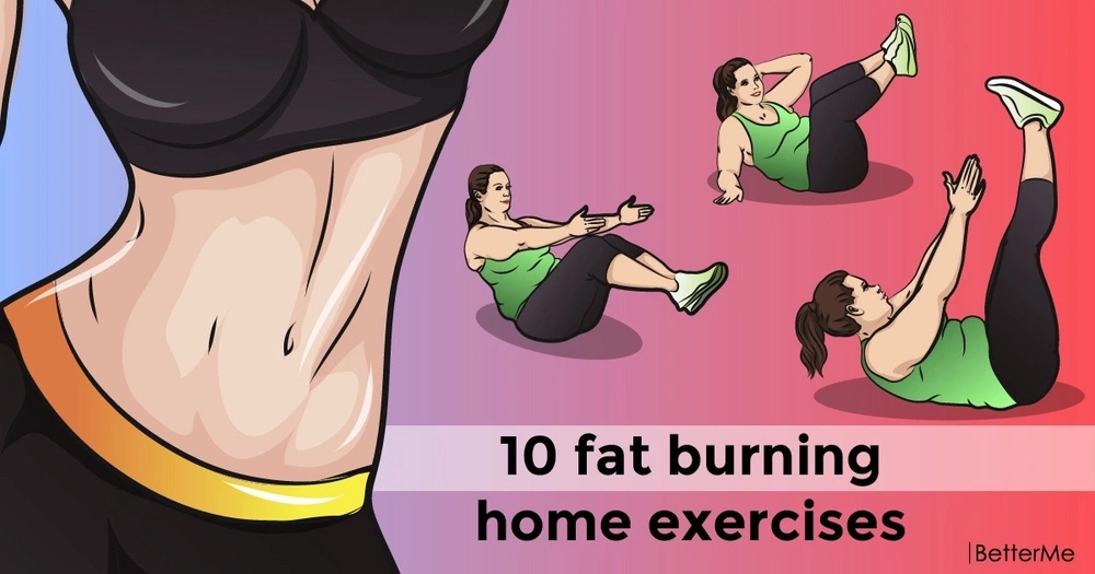 10 fat burning home exercises