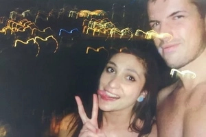 These Are Final Selfies Of Woman And Tinder Date Accused Of Murder Moments Before Plunging Her To Death