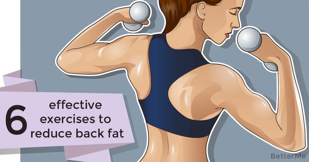 6 effective exercises to reduce back fat