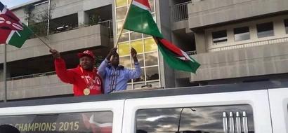 Nairobi Senator Mike Sonko goes hard on Peter Kenneth at Kasarani