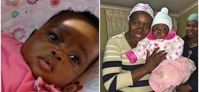 Relief for worried mother as 5-month-old baby kidnapped by NANNY is found after 3 days (photos)