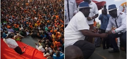 Raila forced to leave rally after ODM rival supporters clash