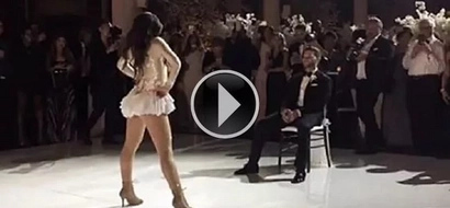Hot! See how this bride wows new husband with Beyoncé dance