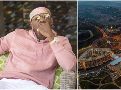 Diamond to buy another home in Rwanda days after he was slammed for lying about buying a mansion in TZ