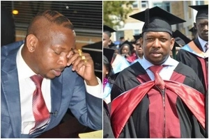 This is what Kenyans are saying about Mike Sonko after he revealed his original KCSE certificate