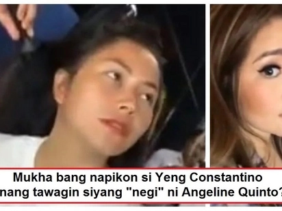 Napikon ba siya? Yeng Constantino's reaction when Angeline Quinto teased her gets caught on video