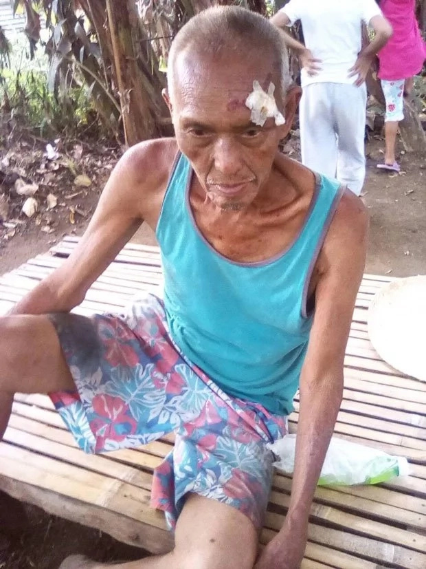 Lolo in search of family in Cavite
