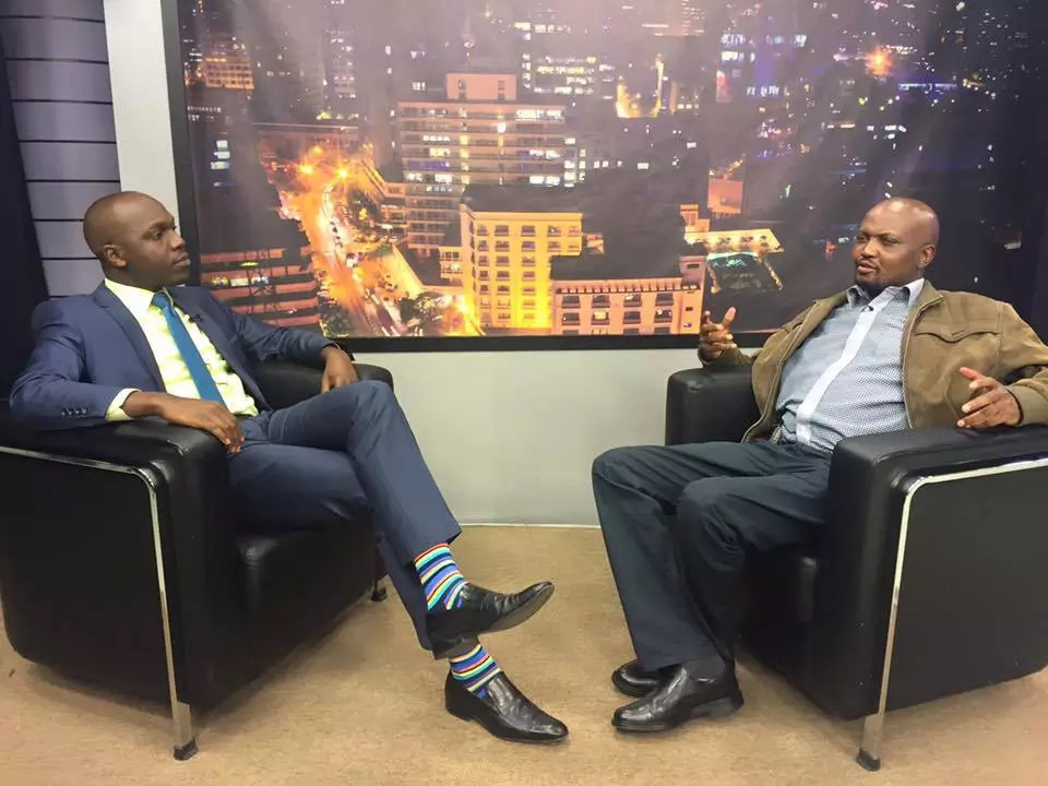 Moses Kuria told Larry Madowo he had failed