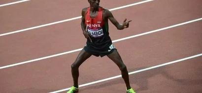 Ezekiel Kemboi Leads Kenyans In 1-2-3-4 Finish At the World Athletics Championships
