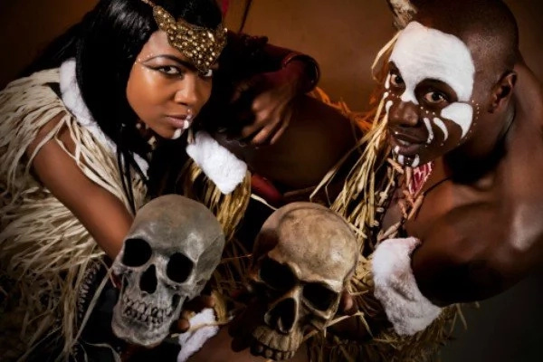 Witchdoctor's human skull mysteriously goes missing from police station