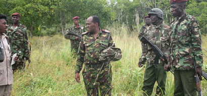 Missing security personnel in al-Shabaab attack found alive