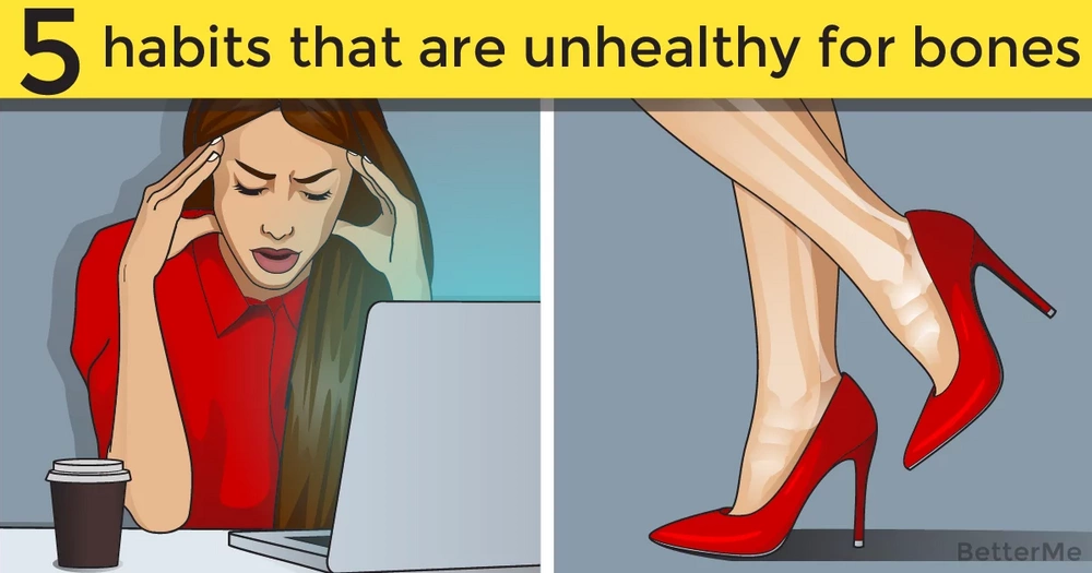 5 habits that are unhealthy for bones