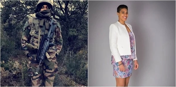 This dangerously HOT 28-year-old African lady is an accomplished French Army engineer and her story will inspire you