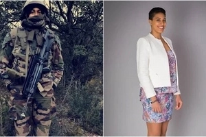 This dangerously HOT 28-year-old Kenyan girl is an accomplished French Army engineer and her story will inspire you