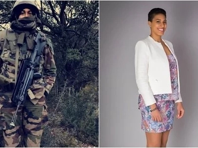 This ravishing 28-year-old Kenyan girl is an aeronautical engineer with the French army and you need to hear her story (photos)