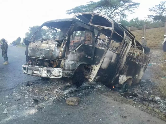 CORD fights owner of matatu burnt in IEBC protests in court