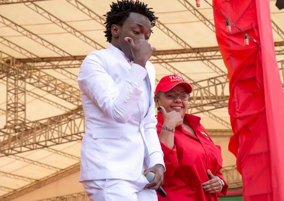 Musician Bahati to vie for a parliamentary seat