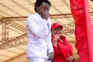 Bahati meets President Uhuru again and complains about these things