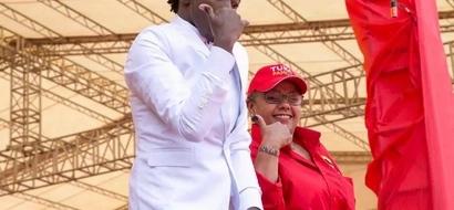 Ujumbe wa Margaret Kenyatta kwa mwamamuziki Bahati
