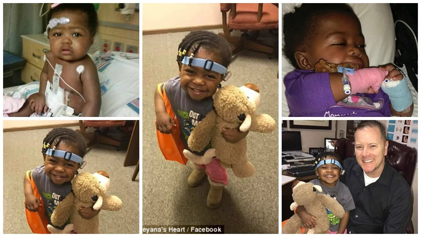 Girl, 2, who was born deaf speaks for the first time; her story will make you weep like a toddler (photos,video)
