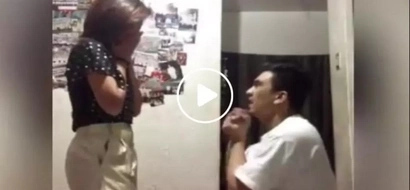 We all thought he'll propose to his partner but we were left disappointed when this happened...
