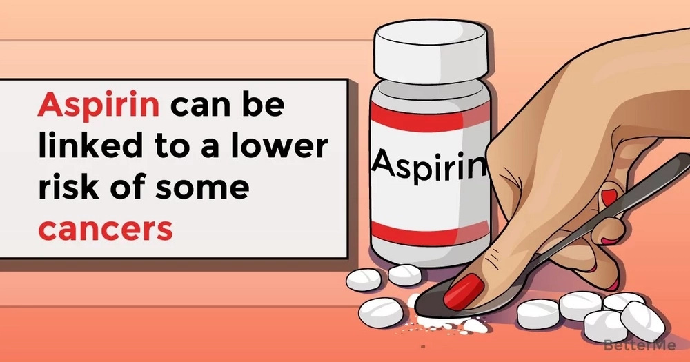 Aspirin can be linked to a lower risk of some cancers