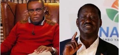 Raila Odinga hapeleki Kenya mahali popote- Mutahi Ngunyi