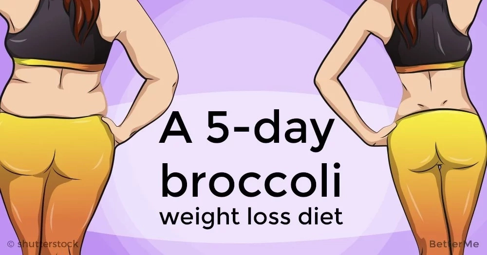 A 5-day broccoli diet plan can help you lose weight in a healthy way