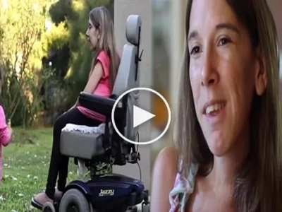 This single mother is caring for her baby despite own disability