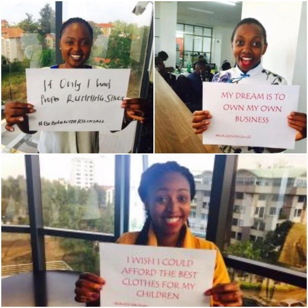 Kenyan women dare each other in latest viral social media challenge