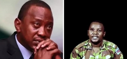 Al-Shabaab shares disturbing video of captured KDF soldier begging Uhuru to help him