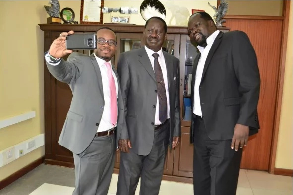 Has Raila Odinga perfected the art of the forced smile?