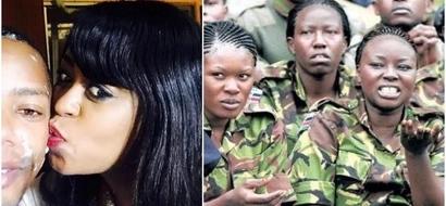 Mtangazaji Lilian Muli amubusu peupe mtangazaji mwenzake wa kiume