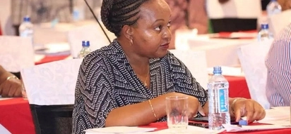 Viral photo of Anne Waiguru having literally confused male governors emerge