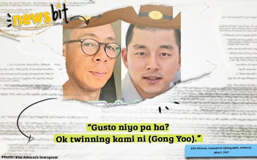 Look! Host Kim Atienza Strongly Believes That Goblin actor Gong Yoo Is His Doppelganger!