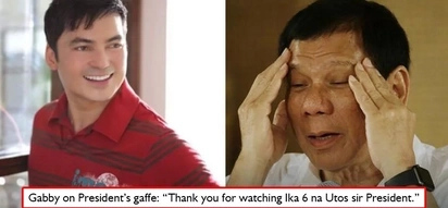 Sobrang yaman ko na! Gabby Concepcion laughs at the case of mistaken identity Pres. Duterte committed during DOJ speech