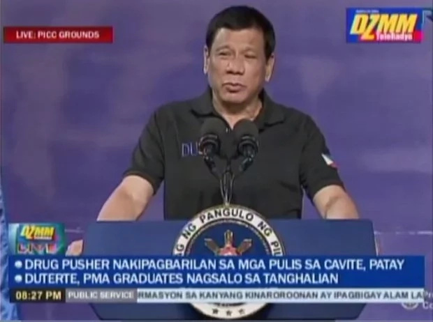 Duterte says Filipinos are poor in Math