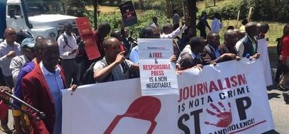 Mwanahabari wa K24 atishiwa maisha na mwanasiasa