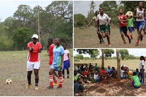 Score! See how football enables disadvantaged girls in Kilifi County in Kenya to develop life skills (photos)
