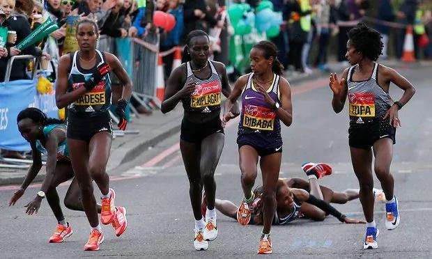 Glory for Kenyans at the London marathon