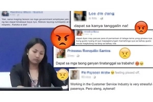 Look! This Disrespectful Pag-IBIG Employee Humiliating A Girl Elicited Rage From The Netizens