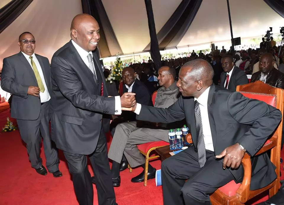 Moi proves his hatred for the DP after Ruto restored calm in Baringo