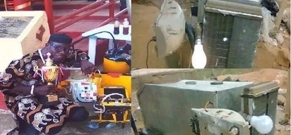 Talented man demonstrates electricity generator that is powered by water (photos, video)