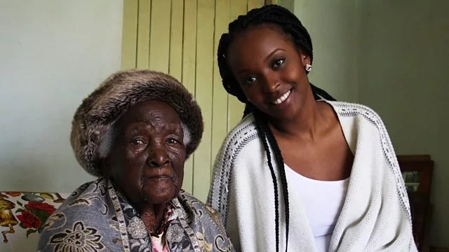 Kenya's oldest woman at 117 years is still fresher than your girlfriend(photos)