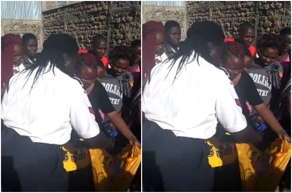 OUTRAGE and ANGER as woman gives birth and throws baby in a dumpsite (photos)