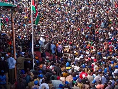 NASA's plan to welcome Raila in pomp and colour as he jets back