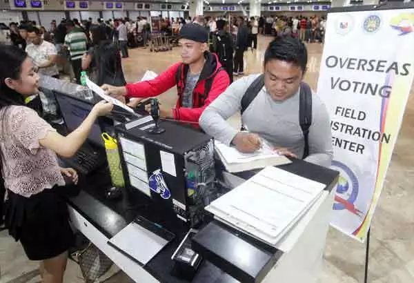 1.38 million OFWs to vote this May